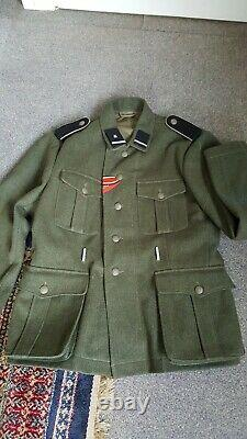 WW2 German M40 combat tunic elite unit