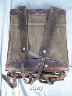 WW2 German Pony Fur Model 1934 Tournister Backpack Dated 1936