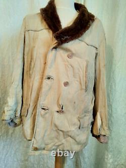 WW2 German Wermacht Luftwaffe Jacket Parka Corporal Army Sheepskin 1941 Rare