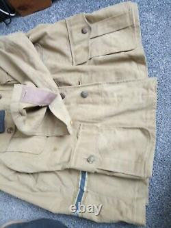 WW2 Original German Afrika/Kreigsmarine Tropical Tunic
