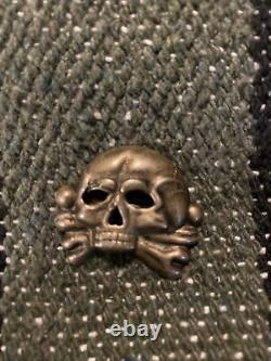 WW2 SS Third Riech Totenkopf First Pattern Skull German Army