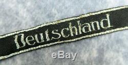 WWI German cuff title patch US WW2 Army soldier estate uniform sleeve insignia