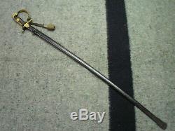 WWI WWII German Army Officers Lion Head Sword, Scharnhorst model, Eickhorn