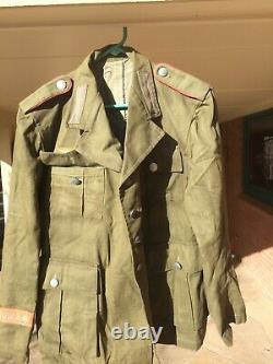 WWII German Army Afrika Korps Tunic