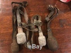 WWII German Army Dress Sword Tassels Lot Still Good Just Worn And Used