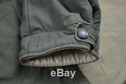 WWII German Army Gray Winter Parka Set Panther Store Size 2 Reproduction