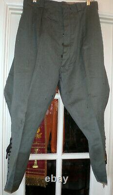 WWII German Army Officer Breeches WW2 Wehrmacht Uniform Tunic Trousers Original