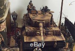 WWII German Army'Schwere Panzer-Abteilung 507 1944' 1/35 Scale Diorama