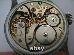 WWII Military Wristwatch German Army Longines Cal. 12L