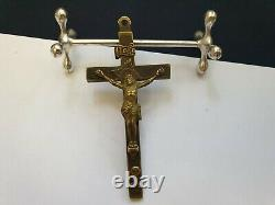 WWII WW2 German Army Wehrmacht Officer Pectoral Cross Pendant Crucifixes (No. R2)