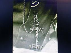 WWII WW2 German Army Wehrmacht Officer Pectoral Cross Pendant Crucifixes No. S03
