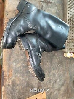WWII WW2 German Boots, Original, Army, Leather, Wehrmacht, Officer, Jack, Soldier, Heer