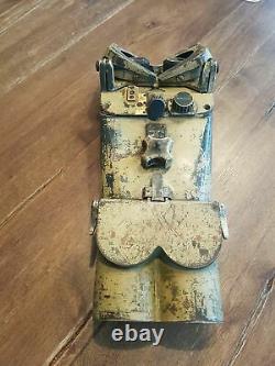 WWII ww2 German Wehrmacht Flak 12x60 Flak Binoculars
