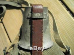 Ww1-ww2 German 1917 Canteen 1l Labeflasche Paratrooper -medics- Afrikakorps-army