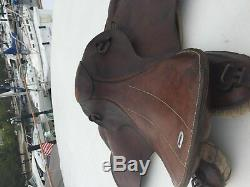 Ww2 German Army Elite Cavalry Officers Horse Saddle Stamped 1940 Berlin Eagle