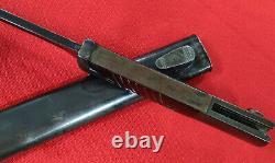 Ww2 German Army K98 Mauser Bayonet & Scabbard Matching Berg & Co 1939