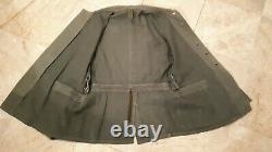 Ww2 German Elite Army Reed green drillich Combat tunic original