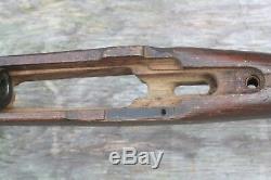 Ww2 German K98 Rifle Barrel + Stock Marked To German Army