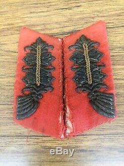 Ww2 German Uniform Army General Collar Tabs