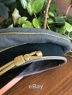 Ww2 German Uniform Hat Army General Erel Size 57 Original