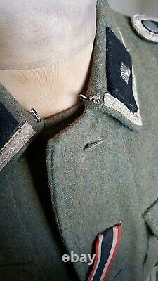 Ww2 German uniform m42 combat tunic fully badged