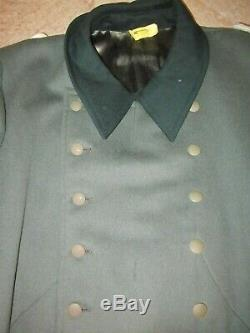 Ww2 Original German Heer Army Officer great coat in a hard to find large size