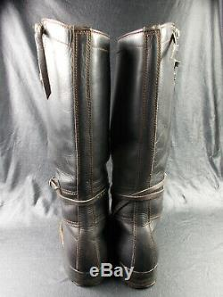 Ww2 Vtg German Army Elite Motorcycle Krad Boots Honved Tank Officers Boots