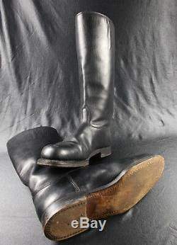 Ww2 Vtg German Army Wehrmacht Luftwaffe Elite Officers Jack Boots Exc
