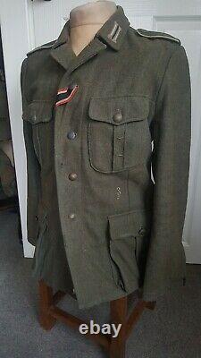 Ww2 german uniform authentic looking m41 combat tunic