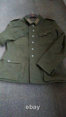 Ww2 german uniform m42 wehrmacht combat tunic