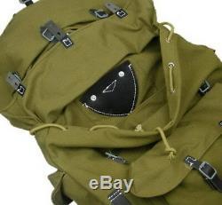Wwii Wehrmacht German Army Heer Elite Mountain Troops Canvas Rucksack Backpack