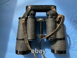ZEISS GERMAN ARMY WWII 10x50 BLC BINOCULARS WITH RETICULE
