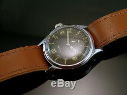 ZENITH DH #2, VERY RARE MILITARY WRISTWATCHES for GERMAN ARMY, WEHRMACHT of WWII
