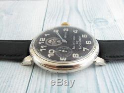 ZENITH Panzertruppen Swiss Military For German Army WWII Mechanical Wristwatch