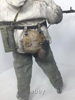 1/6 21ème Siècle Allemand Wehrmacht 6ème Armée Mg-34 Gunner Stalingrad Ww2 Dragon