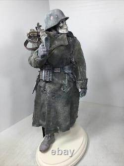 1/6 Allemand Personnalisé 6ème Armée Fantôme De Stalingradmg-34 P-38 Gunner Ww2 Dragon DID