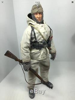 1/6 Dragon Allemand Wehrmacht 6e Armée Stalingrad Neige Camouflage K-98 Bbi Ww2 DID