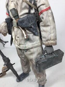 1/6 Dragon Custom Build Wehrmacht Allemand 6ème Armée Stalingrad Mg-34 Ww2 Bbi DID