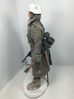 1/6 Dragon Wehrmacht 6e Armée Stalingrad Hiver Ppsh-41 Stand Ww2 Saviez Bbi
