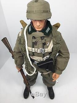 1/6 Dragon Wehrmacht Rare Armée Parachutiste Luger Parachute Bbi 21 Saviez Ww2