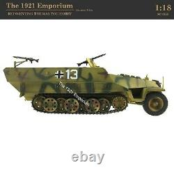 118 21st Century Toys Ultimate Soldier Wwii German Army Sd. Kfz 251 Halftrack