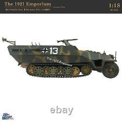 118 Jouets Du 21ème Siècle Soldat Ultime Deuxième Guerre Mondiale Armée Allemande Sdkfz 251 Halftrack