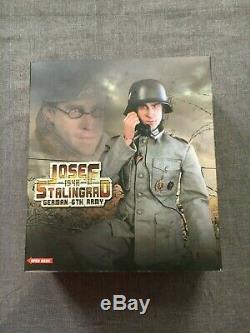 12 1/6 Échelle DID Seconde Guerre Mondiale Allemande 1942 Stalingrad Josef 6e Armée Figure New D80074