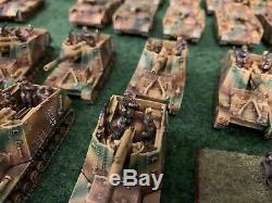 15mm Ww2 Armée Allemande # 1 Peint Et Professionnel