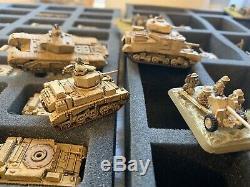 15mm Ww2 Armées Peintes Inc Allemand, États-unis Et Au Royaume-uni. Les Armées De L'ouest Et Afrika Énorme