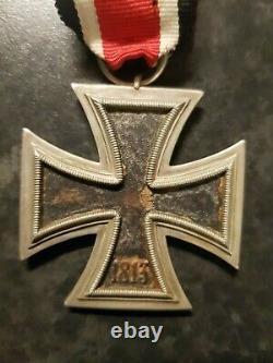 1939 Croix De Fer 2ème Classe Ww2 Avec Ruban Armée Militaire Allemande
