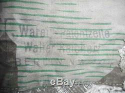 1940 Original Daté Ww2 Armée Allemande Heer Écharde Wh Tarn Camo Zelt Zeltbhan