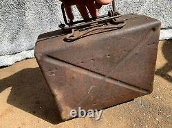 5cm Mortar Ww2 Boîte Allemande Avec Rails