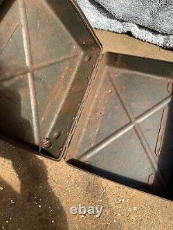 5cm Mortar Ww2 Boîte Allemande Relique Originale Barn Trouver La Boîte