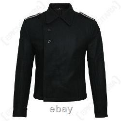 Allemand Elite Black Panzer Wrap Ww2 Army Tunic Jacket Repro Uniforme Toutes Les Tailles